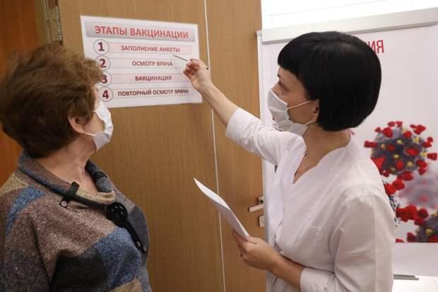 Врач рассказал, как облегчить побочную реакцию на прививку от коронавируса
