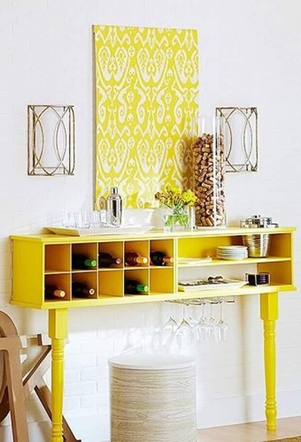 Консольный столик из комода и Co