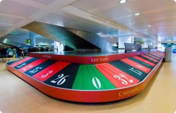 Из аэропорта – в казино