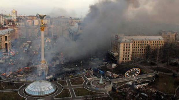Площадь Независимости в Киеве, 2014 год