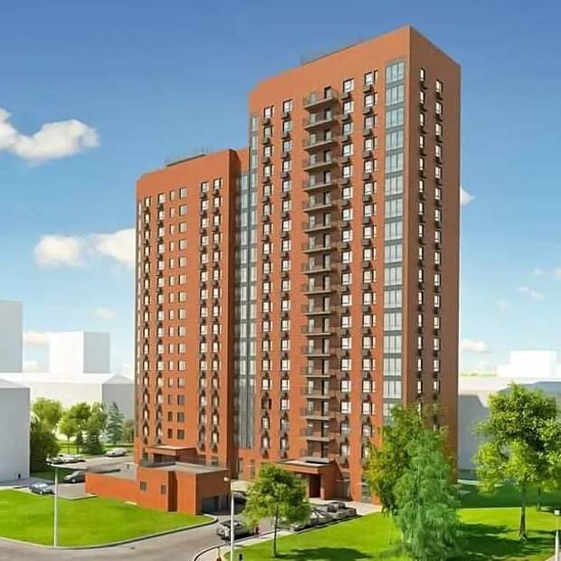 Начать заселение дома на Смольной планируется в конце года