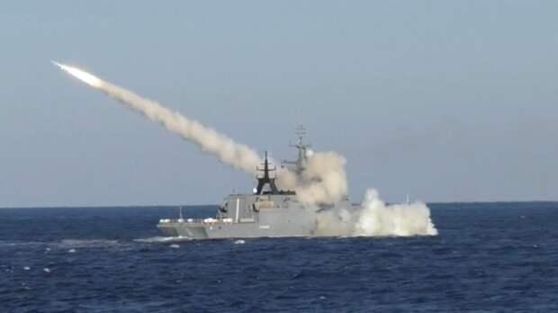 «Убийца фрегатов»: в Минобороны опубликовали пуск ракеты «Уран»