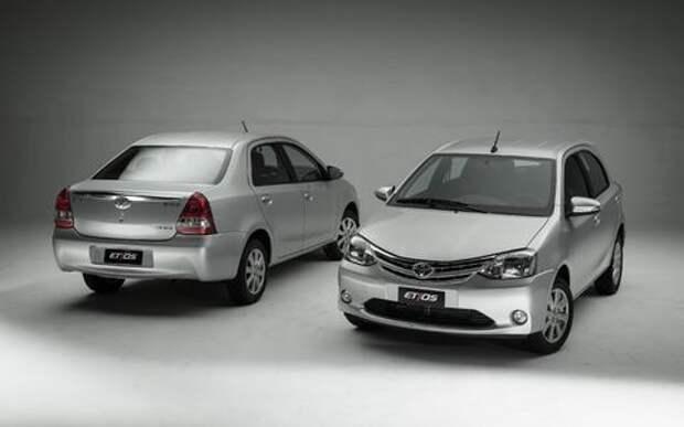 Toyota Etios – японский аналог Логана обновился