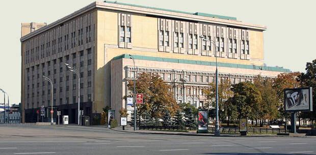 Здание Вычислительного центра <strong>КГБ</strong>