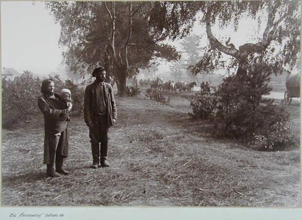 Немецкие фотографии русской деревни 1942-1943 гг. Фотограф Асимус Реммер