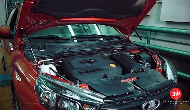 Как заменить механический упор капота на газовый