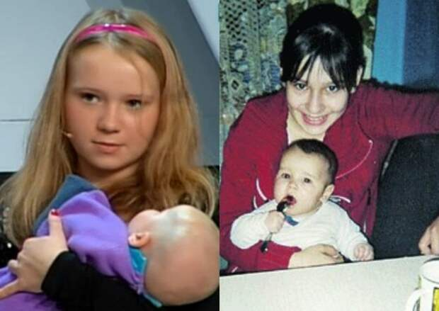 Родить до 15. Самые молодые мамы России и их дальнейшая судьба