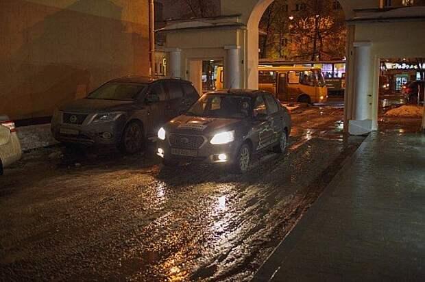 Просоленные машины и дороги Екатеринбурга