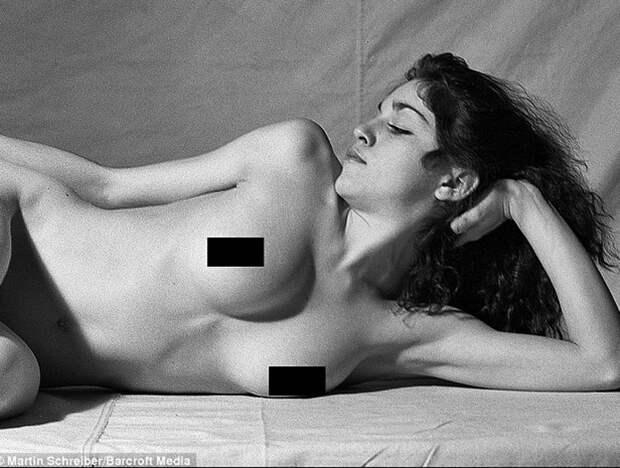 Откровенные фотографии молодой Мадонны, которые считались пропавшими