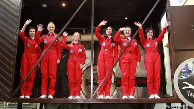 Daily Mail: В имитации полета на Луну женщины не уступят мужчинам