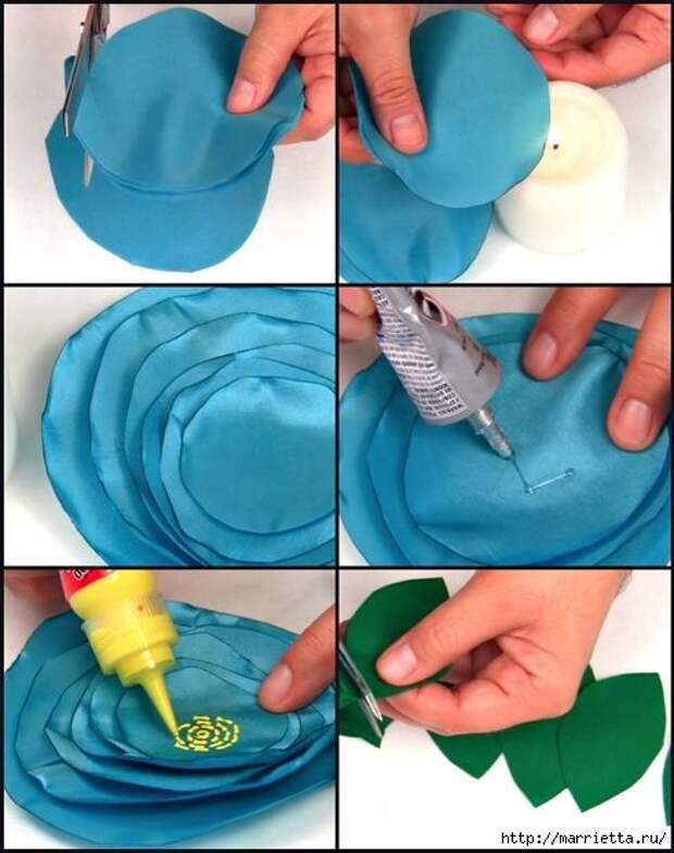 Цветочная подушка своими руками (3) (490x620, 158Kb)