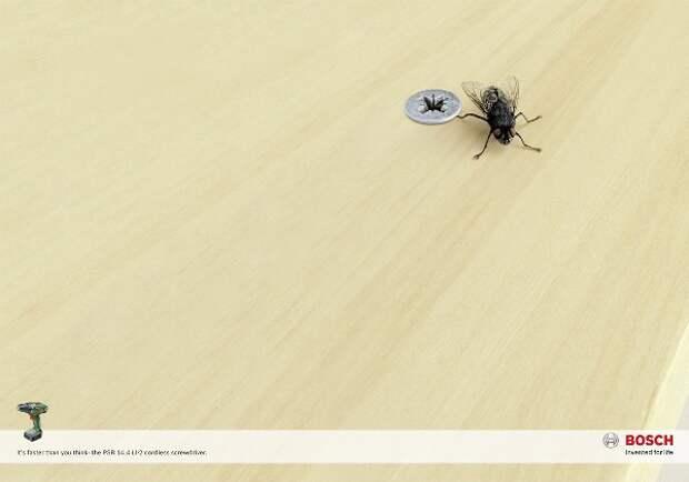 Как привинтить муху к столу