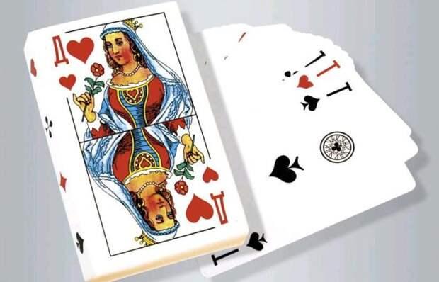 Почему игральные карты с мастью в форме сердца называют черви