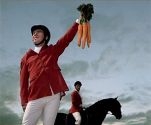 Циничное убийство овощей в рекламе ветчины