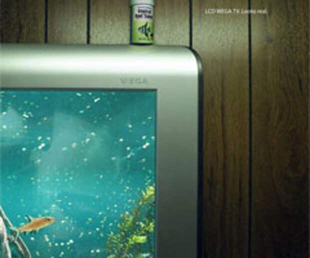 Телевизор вместо аквариума