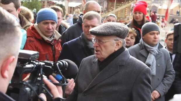 Жириновский подвел итоги послания Путина пламенным обращением к Западу