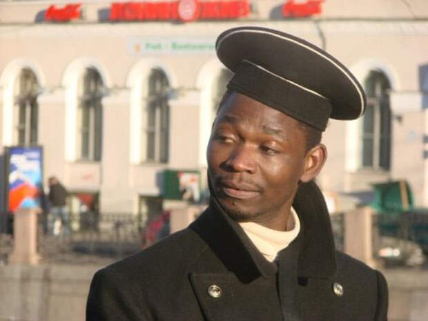 В Питере прошла чернокожая революция