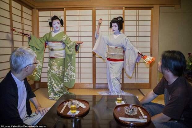 Гейши развлекают клиентов своим талантом, а не телом, как многие считают гейша, история, люди, япония