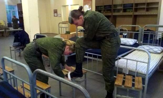 От тайги до британских морей ... : Лица девушек из Российской армии (50)