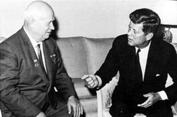 John-Kennedy-Nikita-Khrushchev