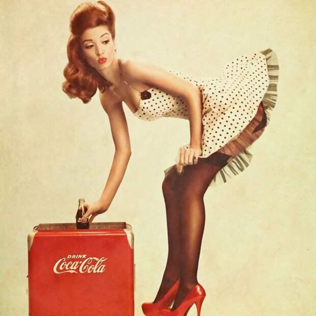 4. Pepsi и Coca-Cola еда, продукты, фигура