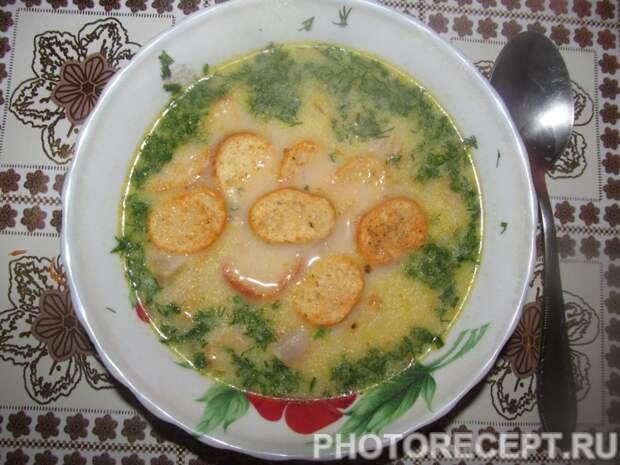 Сырный крем-суп с беконом