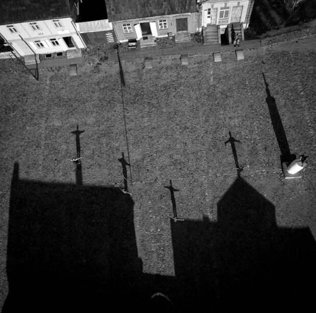 Тени на аэроснимках фотографа Карулиса Янулиса