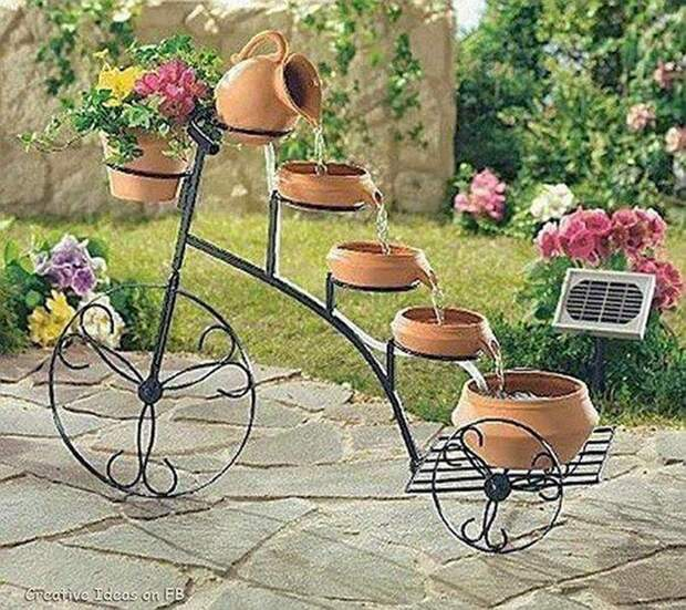 Простые идеи обустройства садового участка