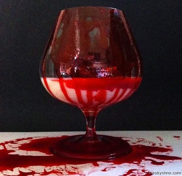 молоко с кровью