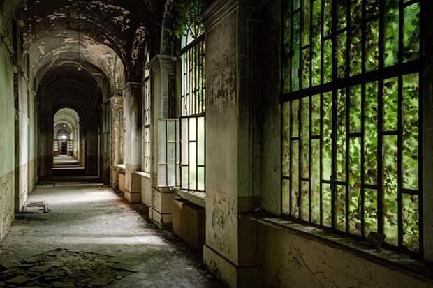 Заброшенные психиатрические больницы