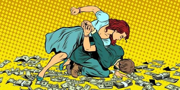 Муж не хочет работать, потому что у меня большая зарплата: как я его наказала