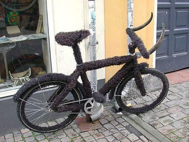 Велосипед-бизон.