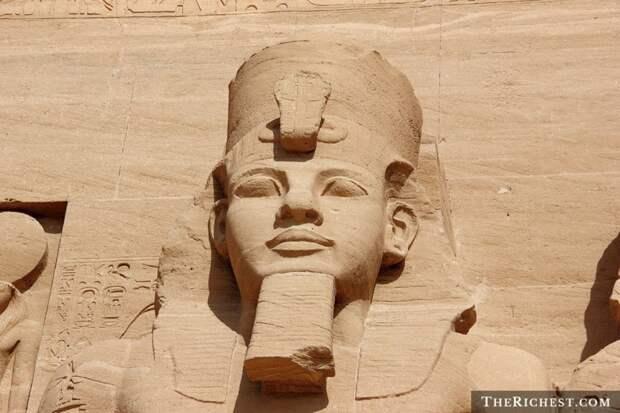 7. Борода была в моде в Древнем Египте борода, факты