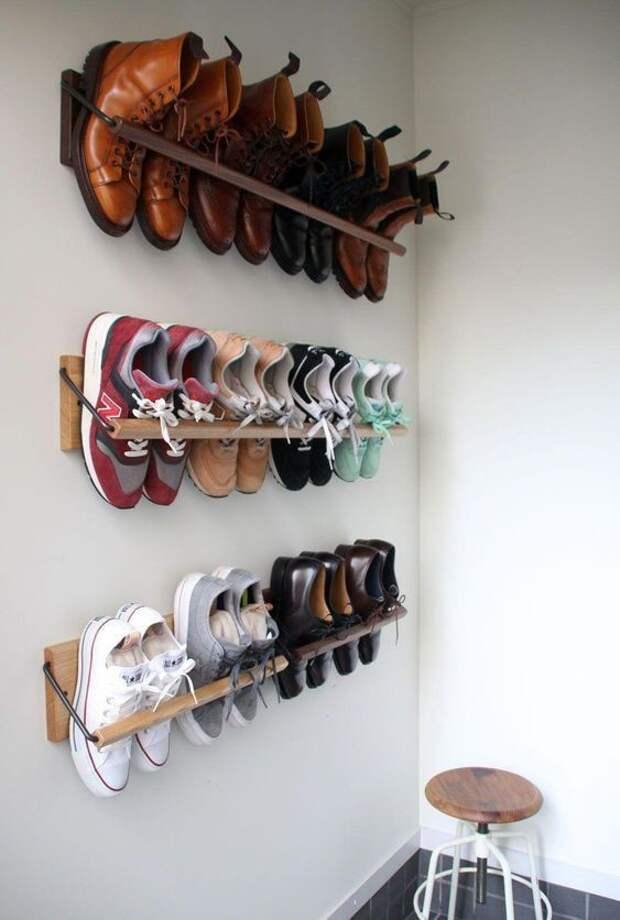 Подвешенная обувь