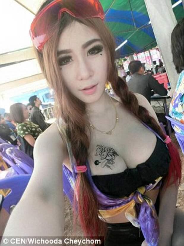 Тайская модель показала, как распознать силиконовую грудь