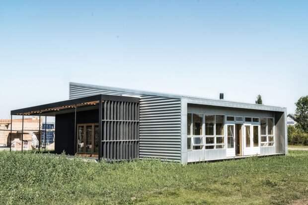 """4. Проект """"Upcycle House"""" (Дания) архитектура, здания, мусор, отходы, факты"""