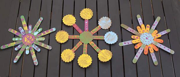 из палочек от мороженного (1)