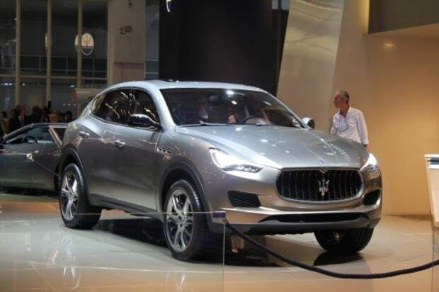 Концепт Maserati Kubang (2011)
