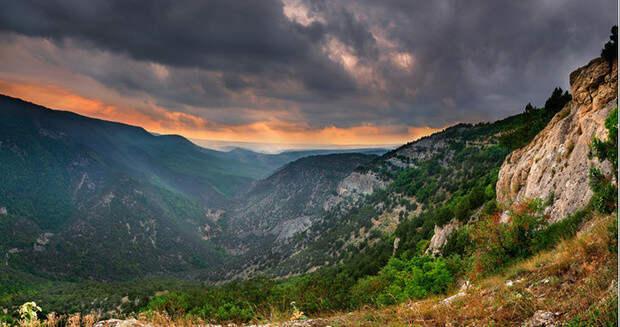 Байдарская долина крым, отдых, природа