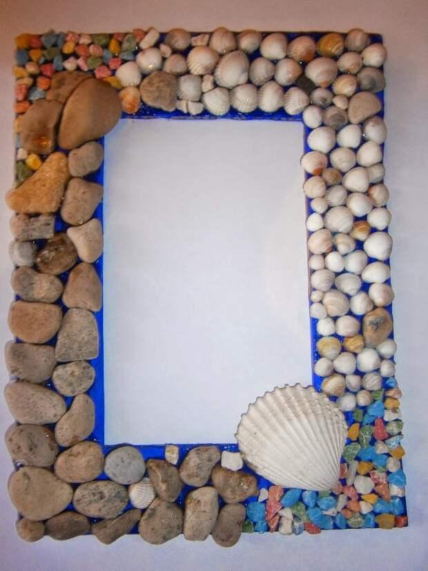 Стильная рамка для зеркала: материалы, декор, интересные решения (109 фото)