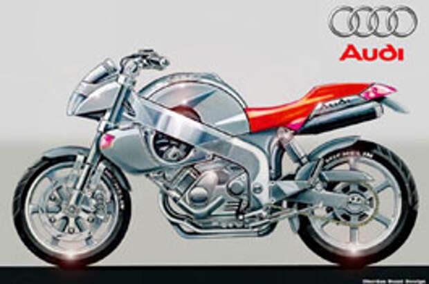 Mercedes и Audi: мотоциклы, которых не было