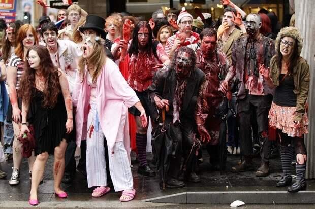 Начавшийся в США зомби-апокалипсис испугал «незараженных»