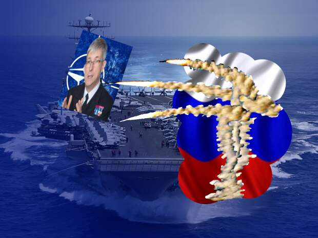 В НАТО выдвинули протест России в связи с тренировкой уничтожения объекта, имитирующего авианосец альянса в Черном море