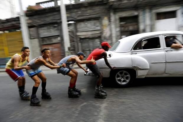 Кубинские подростки