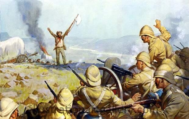 Англо-бурская война 1899—1902 гг. - 7 часть
