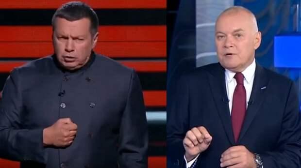 Украинская болезнь российского ТВ: все про Зеленского, про Путина – ни гу-гу
