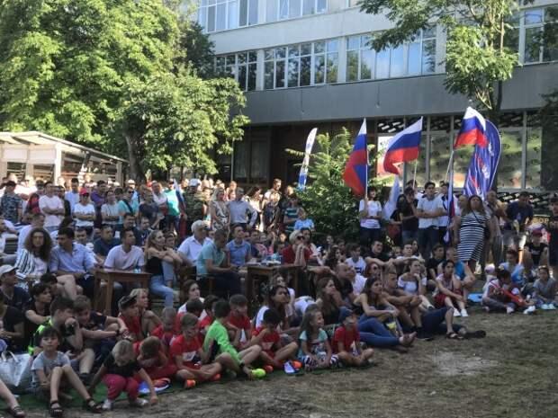Севастопольцы, поддержите сборную России!