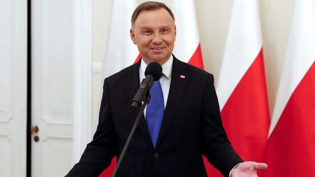 Вновь избранный президент Польши пообещал помочь Украине вернуть Крым