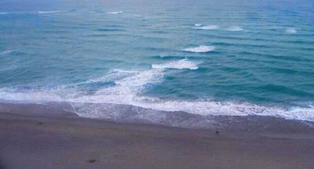 Выглядит это как река: море, опасность на море, пляж, правила поведения на воде