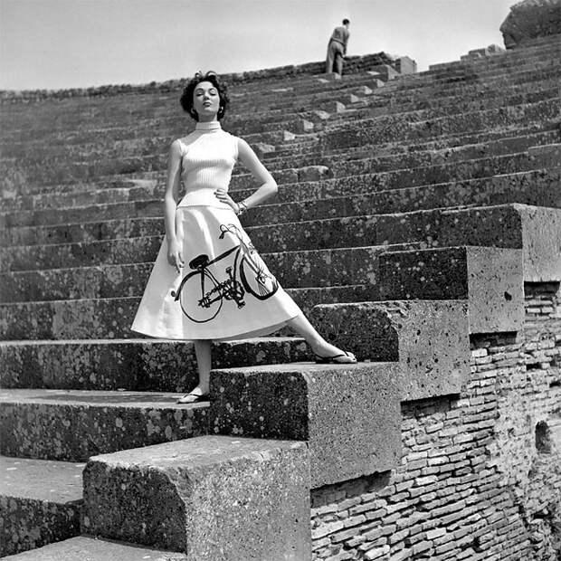 15 фэшн-фотографий 1950-х от Жоржа Дамбье